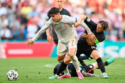 Итоги матча по футболу испан