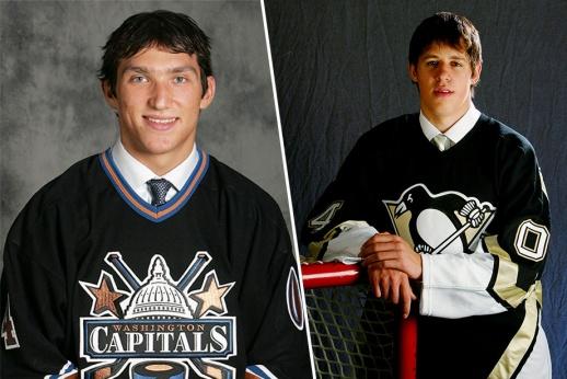 Малкин должен был быть выше Овечкина на драфте НХЛ? Первые против вторых
