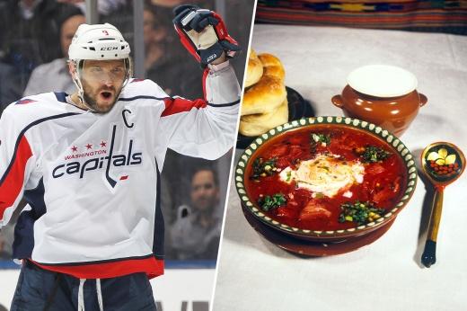 Борщ, картошка и котлеты. Чем кормят россиян в НХЛ заботливые мамы и жёны