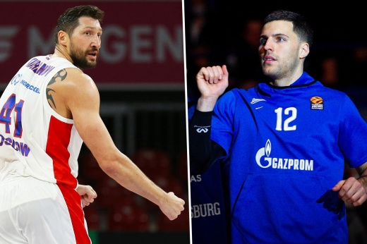«Зенит» в двух овертаймах обыграл ЦСКА и сравнял счёт в серии полуфинала Единой лиги ВТБ