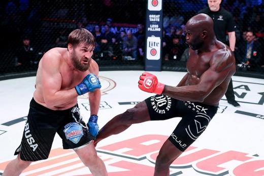 Сергей Харитонов проведёт бой в Bellator с Чейком Конго, конфликты Харитонова