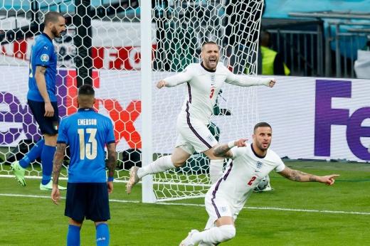 Англия забила первым же ударом! Самый быстрый гол в истории финалов Евро