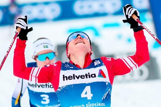 Российская лыжница победила в стиле Большунова. Полное доминирование от Ступак!