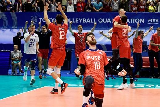 Россия это сделала! Наши волейболисты смели всех и прорвались на Олимпиаду