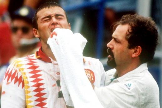 «Судья был напуган». В Испании не забыли скандальный матч с Италией на ЧМ-1994