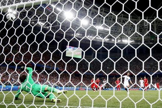Самый смешной пенальти на чемпионате мира. Его забила Коста-Рика