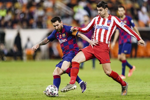 Матч «Барсы» с «Атлетико» — драма. В нём были отменённые голы, стычки и камбэк