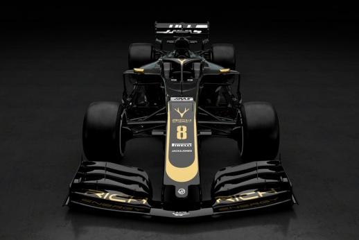 В Формуле-1 показали первую машину, построенную по новым правилам