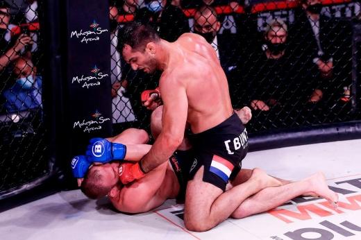 Лучший боец месяца в Bellator по версии «Чемпионата» — Андрей Спартанец Корешков, видео