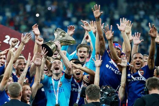 ЦСКА потерял почти всю команду, но выиграл Суперкубок