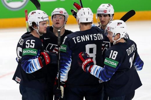 США — Словакия. Прогноз: обидчик России не помешает американцам выйти в полуфинал ЧМ-2021