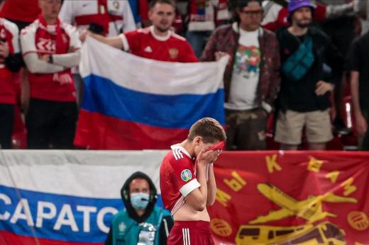 Россия провалилась на Евро-2020. Команда Черчесова сыграла даже хуже ожидаемого