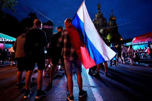 Пока никакого праздника. Кому вообще нужен Евро в Санкт-Петербурге?