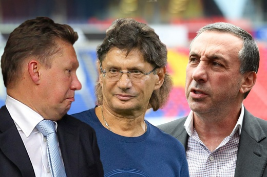 Transfers of Russian clubs for 10 years.  The leaders in terms of losses are Zenit and Spartak