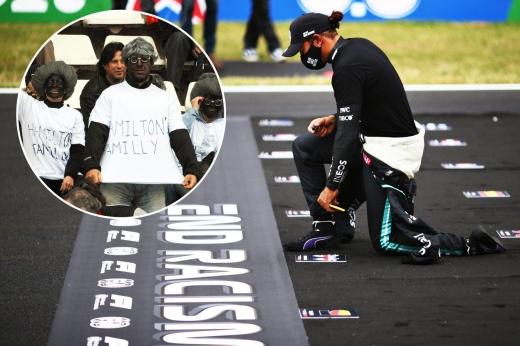 Льюис надоел борьбой с расизмом? Имеет право: в Испании фанаты Алонсо оскорбляли его семью