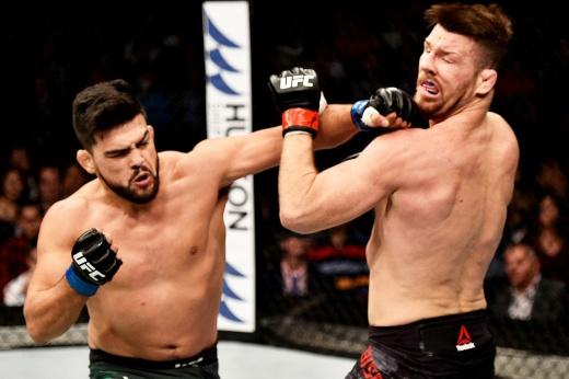 «Благослови Господь его левый хук». Гастелум отправил на пенсию легенду UFC. Видео