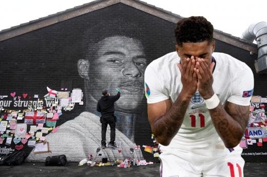 «Трусливые крысы». В Англии встали на защиту футболистов, смазавших пенальти в финале Евро