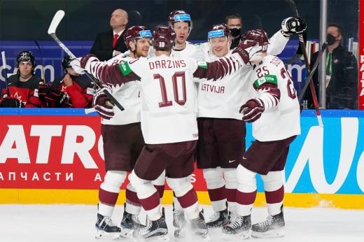 Комментарии участников матча после первой в истории сборной Латвии победы над Канадой на чемпионатах мира по хоккею