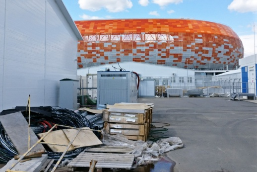 Забитые гостиницы и мусор у арены. Первый тест Саранска после чемпионата мира