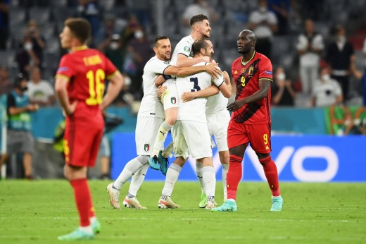 Италия выбила Бельгию и вышла в полуфинал Евро-2020! Это вам не сборную России громить