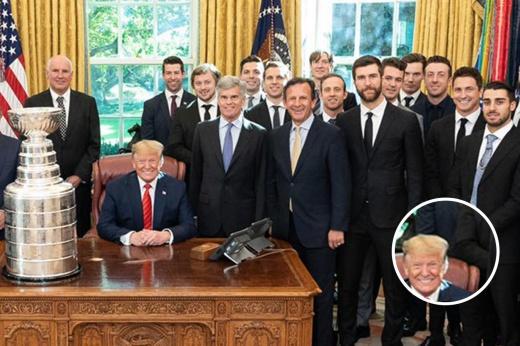 Тарасенко опёрся на кресло Трампа с беззубой улыбкой. Реакция Америки бесценна