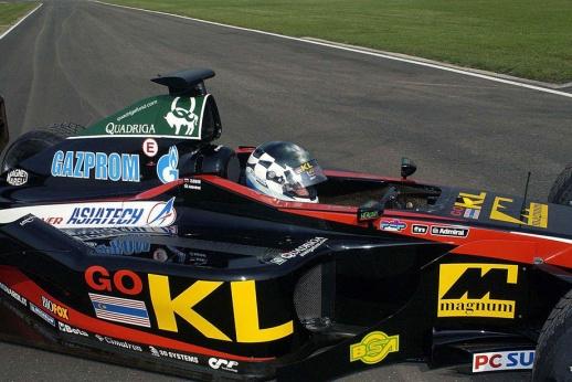 Из «Джордана» в «Мидлэнд»: короткая история первой российской команды Формулы-1
