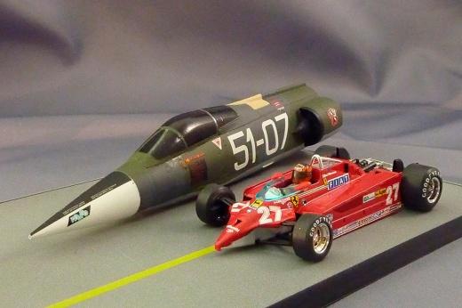 Шумахер против истребителя: «Феррари» и Eurofighter Typhoon в 2003 году