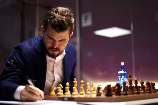 The two Russians did not stop Carlsen.  Rehearsal of the championship match - for the Norwegian