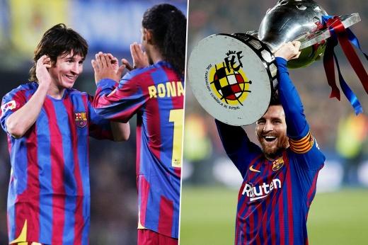 Самые яркие моменты карьеры Месси в «Барселоне». Как Лео менялся год от года