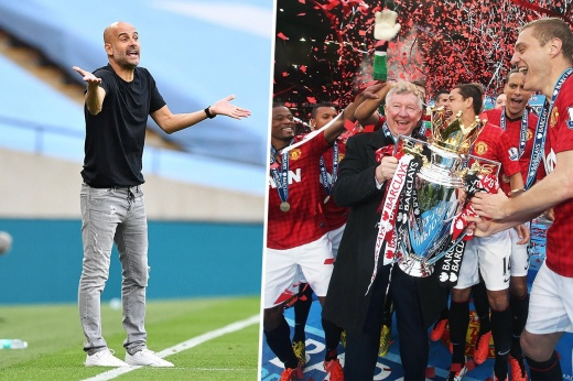 Guardiola said that Manchester United spent more than others in their successful years.  This is nonsense - we checked