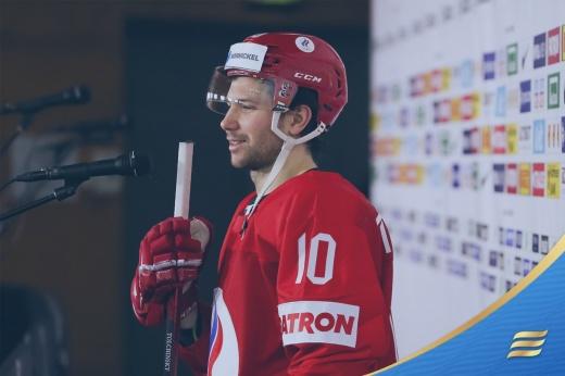 Швейцария — Россия — 1:4, передача Толчинского сидя на льду и гол после прохода на ЧМ-2021, видео