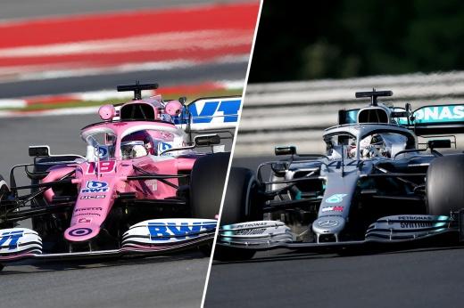 Скандал в Формуле-1? Новая машина «розовых пантер» подозрительно похожа на «Мерседес»