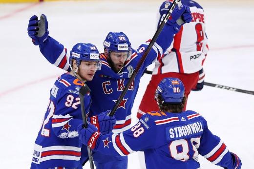 ЦСКА — СКА — 2:3 (ОТ), плей-офф КХЛ сезона-2020/2021, видео и обзор матча