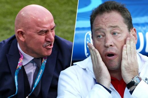 Позорные вылеты России в лицах. Что говорили тренеры сборной после неудач на Евро и ЧМ