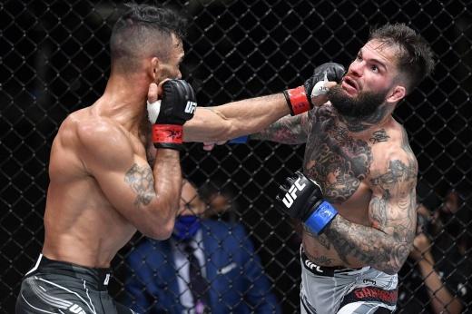 Джаред Вандера победил Джастина Тафу единогласным решением судей на UFC Vegas 27, видео