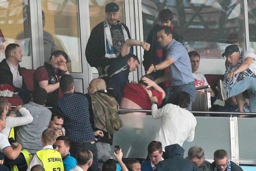 VIP-избиение. Фанаты «Динамо» нападали на Зобнина и не только (ВИДЕО)