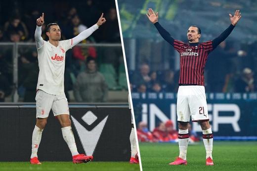 «Милан» — «Ювентус». Прогноз: Ибрагимович и Роналду устроят обмен ударами