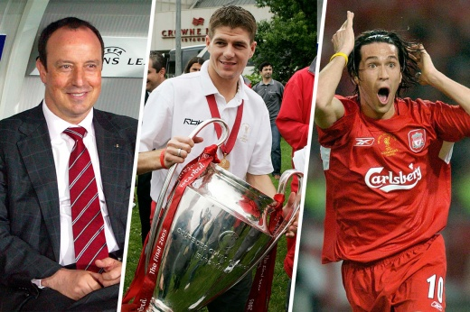 Победители легендарного финала ЛЧ «Ливерпуль» — «Милан». Как они выглядят сейчас