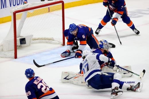 «Тампа» — «Айлендерс» — 8:0, видео, голы, обзор матча полуфинала плей-офф НХЛ