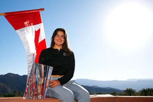 Юная Андрееску покорила Индиан-Уэллс, а Федерер не смог завоевать 101-й титул