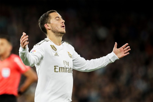 Азар получил десять травм менее чем за два года в «Реале». Это просто катастрофа