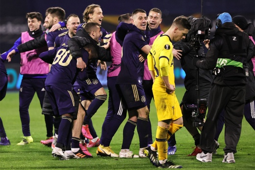 Убрали ЦСКА с «Краснодаром», а теперь разгромили и «Тоттенхэм» Моуринью. Вот это Загреб!