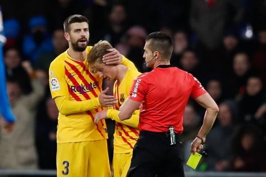«Барселона» отдала очки худшей команде Примеры! Команду подставил де Йонг