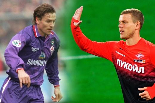 Пример для Кокорина. Первым игроком сборной России в «Фиорентине» был Канчельскис