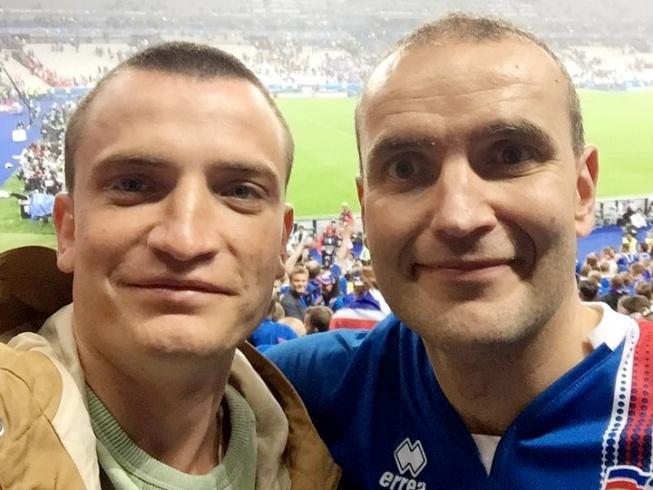 Дмитрий Егоров и Гудни Йоханнесон