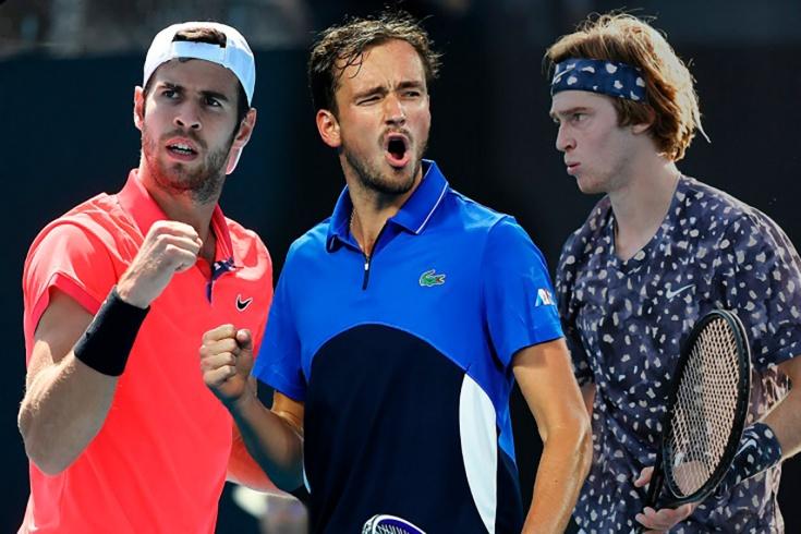 Где могут сыграть Медведев, Рублёв, Хачанов в начале сезона-2021. Australian Open стартует 8 февраля