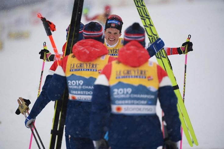 Сборная Норвегии по лыжным гонкам
