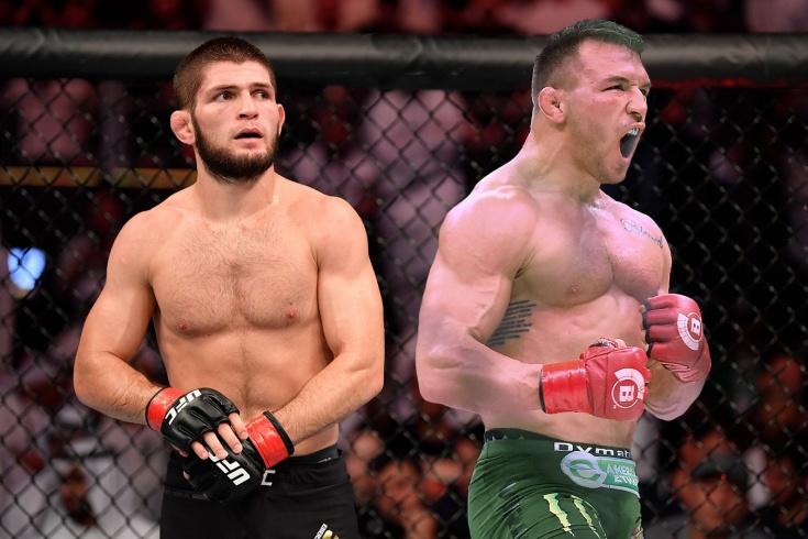 Майкл Чендлер может заменить Хабиба Нурмагомедова на UFC 254