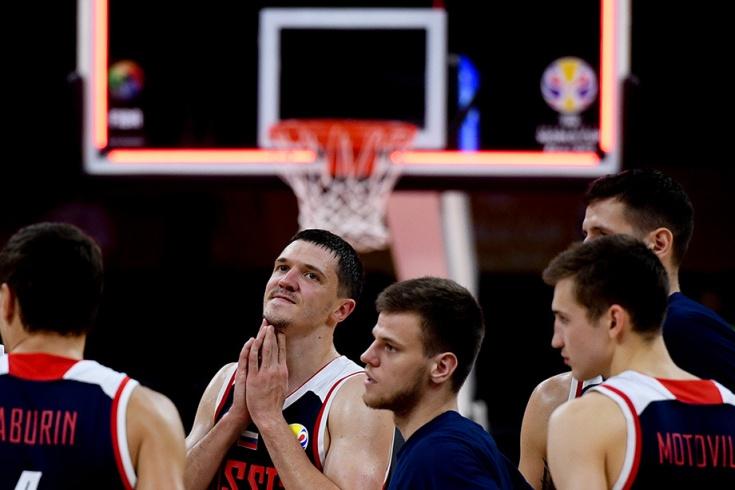 Чемпионат мира по баскетболу, Россия разочаровала