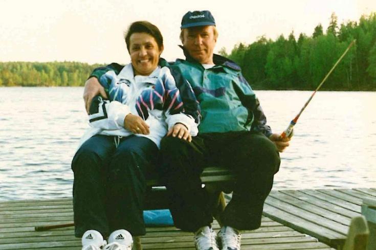 Павел Садырин с супругой